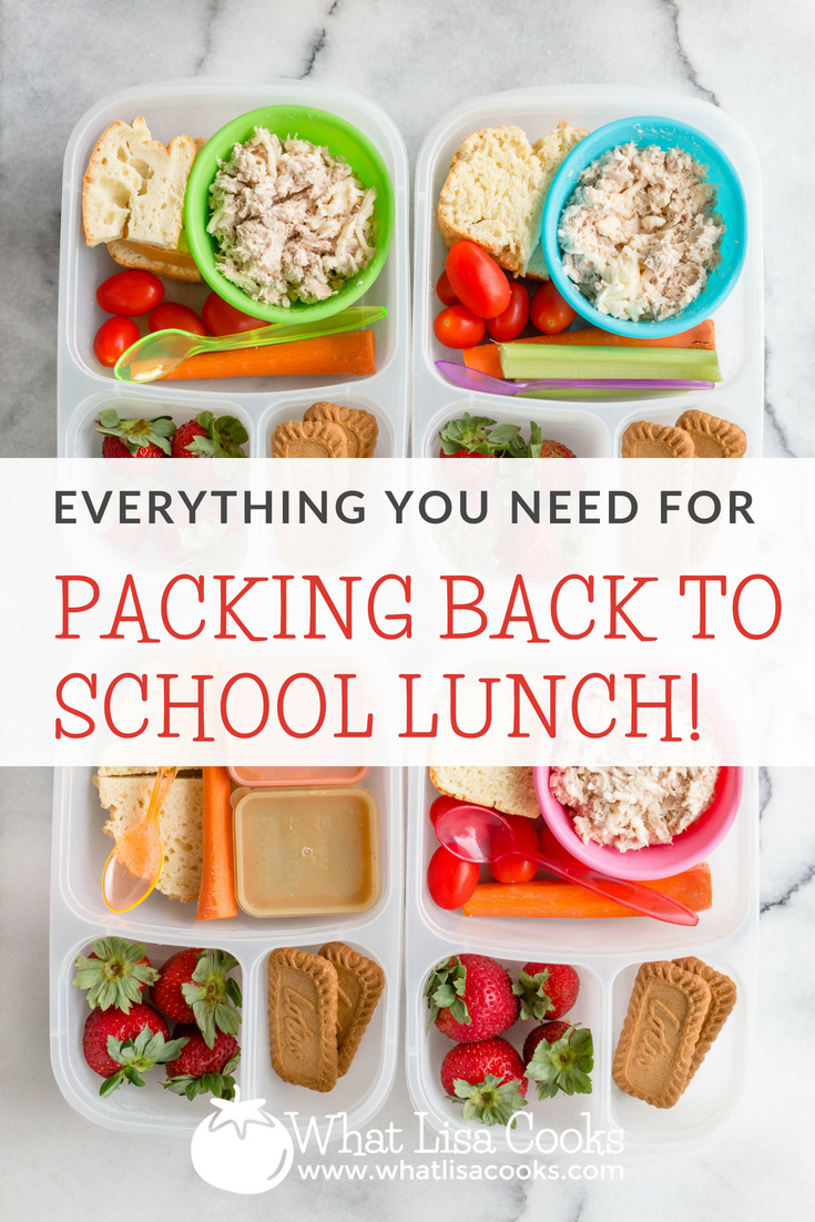 All the best lunchboxes and lunch packing products - everything you need for easy school lunch packing - from whatlisacooks.com