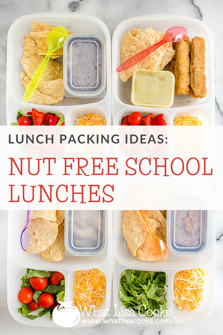 Nut free school lunch packing ideas, and nut free lunch packing tips, from whatlisacooks.com