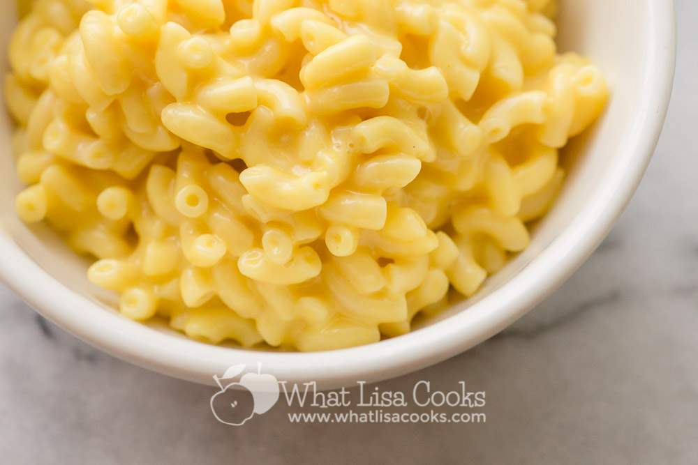Creamy homemade macaroni and cheese