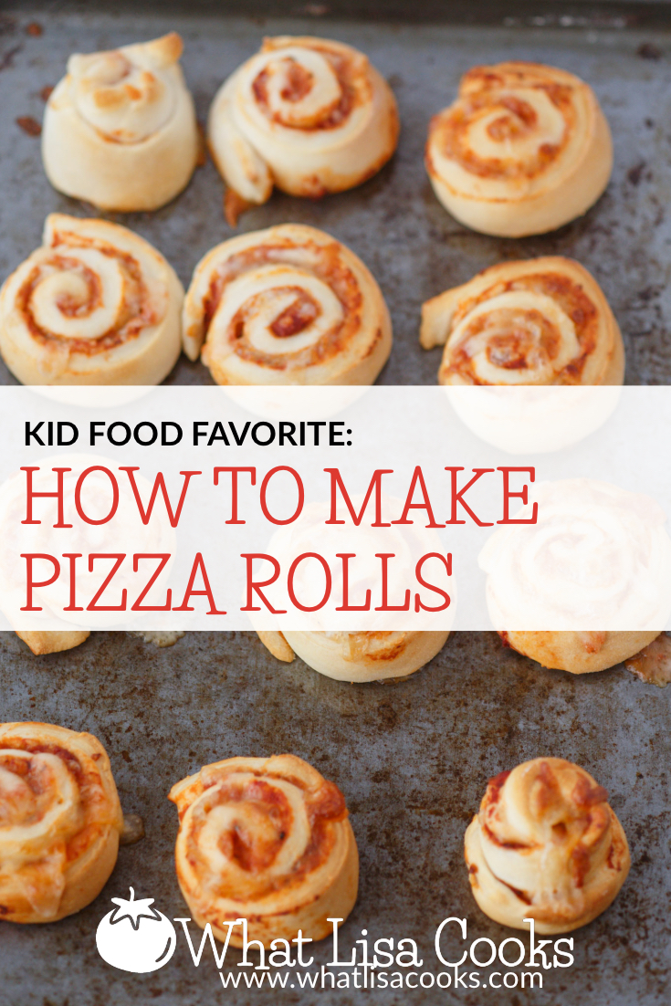 Pizza rolls so easy what lisa cooks for Easy things to make for dinner for two