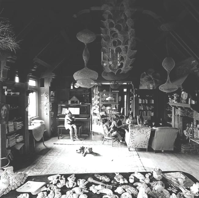 Ruth Asawa's Living Room, San Francisco, 1969_jpg