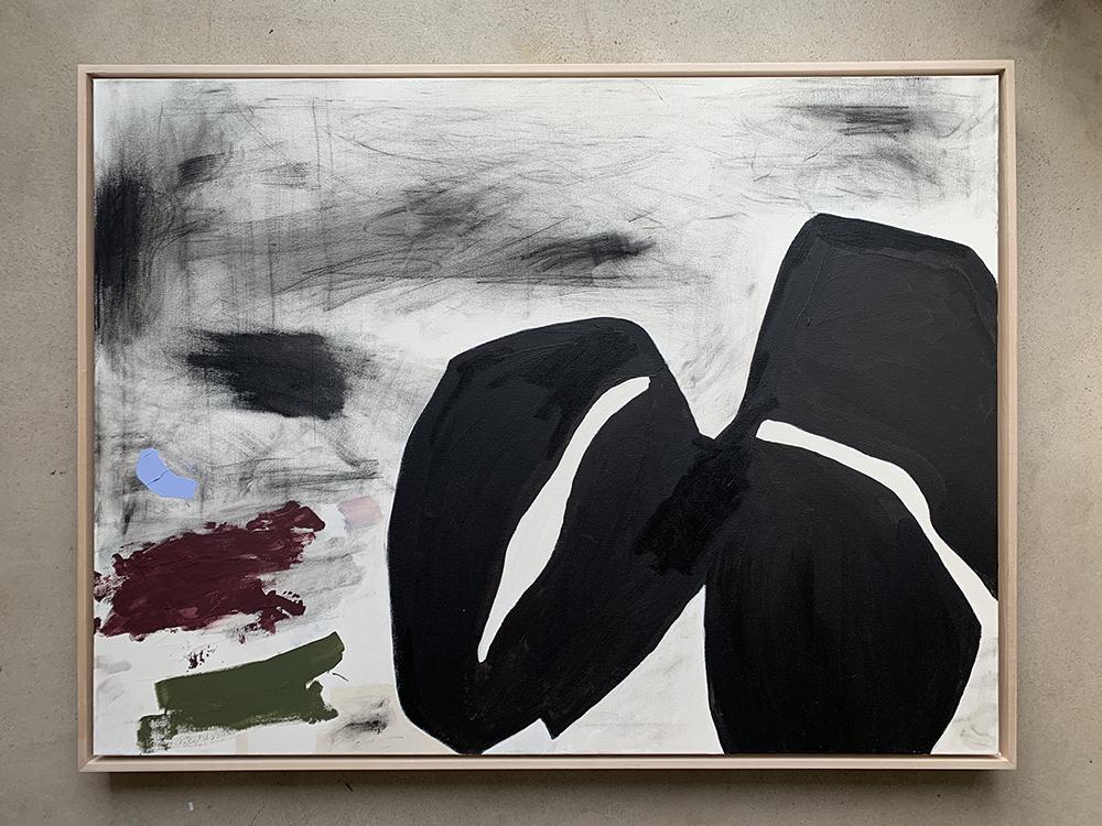 Karina Bania black shapes in situ.jpg