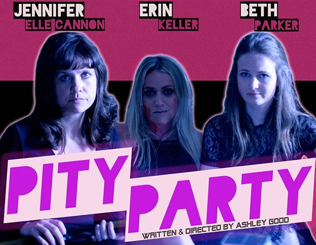 This poster makes me want to watch #PityPartyMovie on VHS... . . . #bcfilm #indiefilm #independentfilm #filmmaking #filmmaker #yyj #yyjarts #productionlife #producer #director #writer #womeninfilm #womeninhorror #comedy #featurefilm
