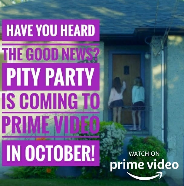 We will have an exact release date in the next week or so. ;) . . . @amazonstudios @primevideo @amazon #PityPartyMovie #bcfilm #indiefilm #supportindiefilm #watchlocal #independentfilm #featurefilm #comedy #womeninfilm #filmmaking #filmmaker #lowbudget #nobudget #butwestilldidit! #productionlife #setlife #bts #yyj #yyjarts #vancouverisland #film