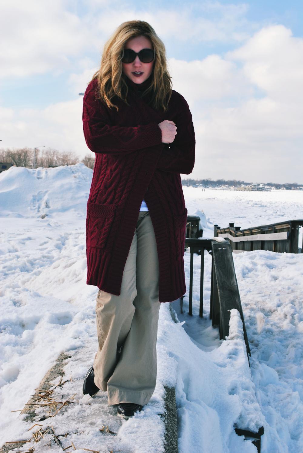 Wool Overs Aran British Wool sweater | thoughtfulwish