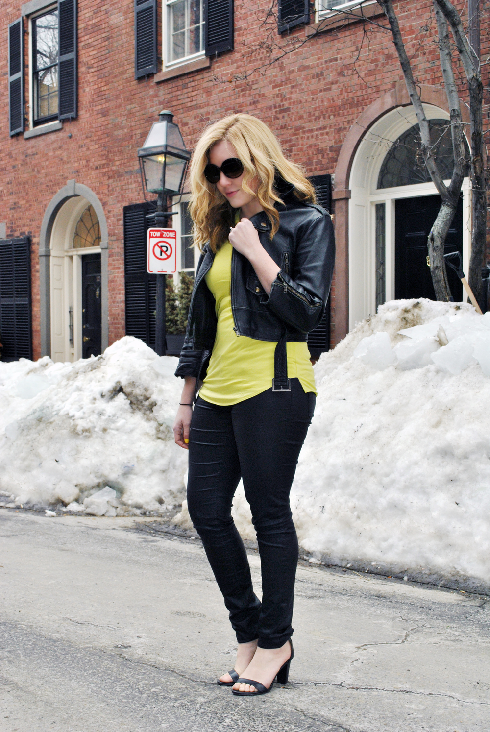 Yellow and leather | thoughtfulwish