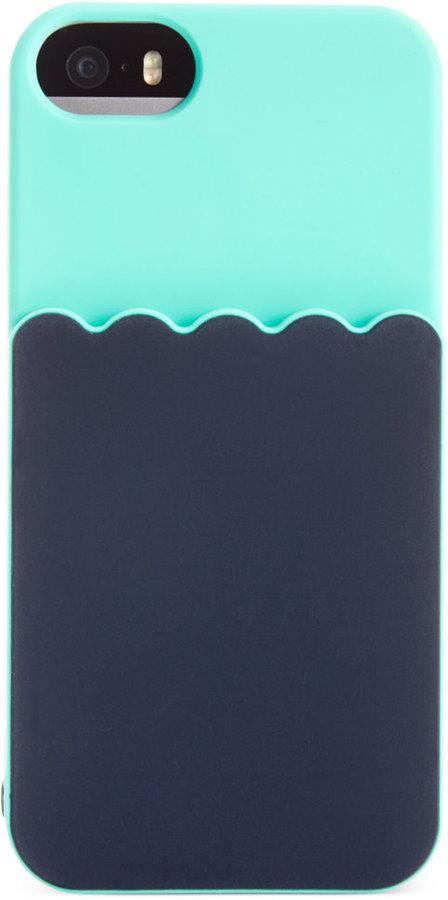 kate spade new york Scallop Pocket iPhone 5 Case