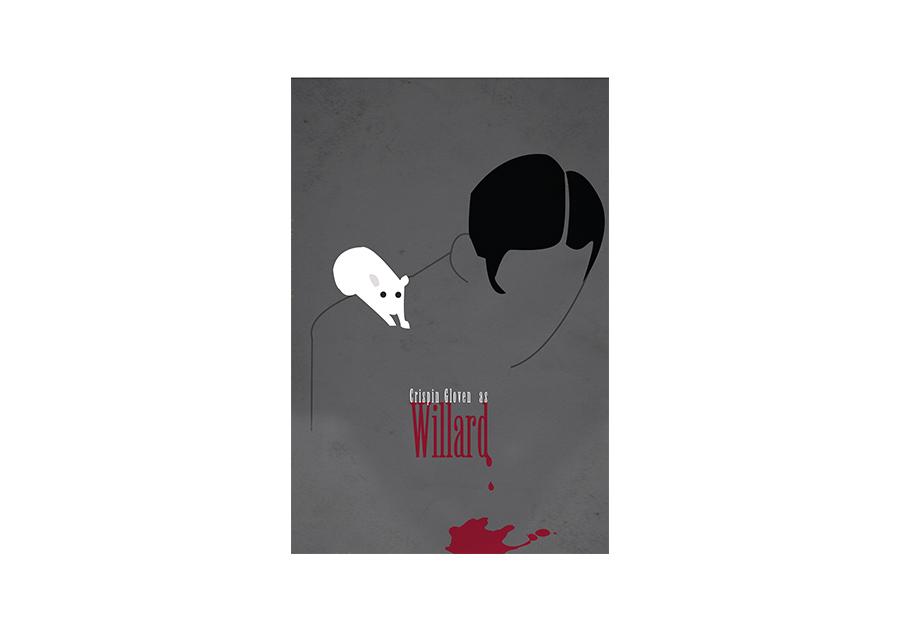 Minimalist Movie Poster Design - Willard