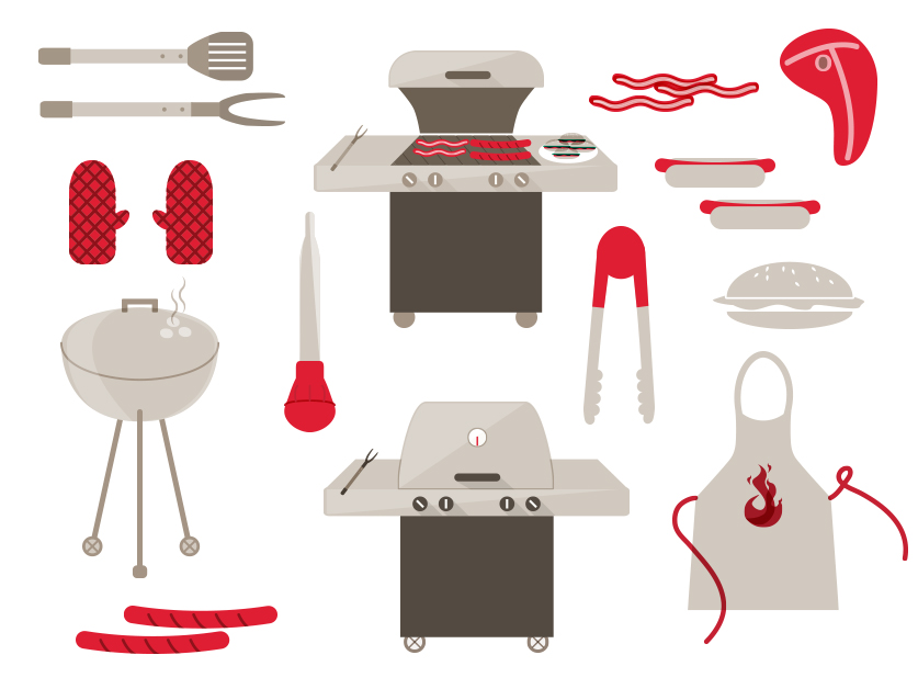 BBQ Illustrations