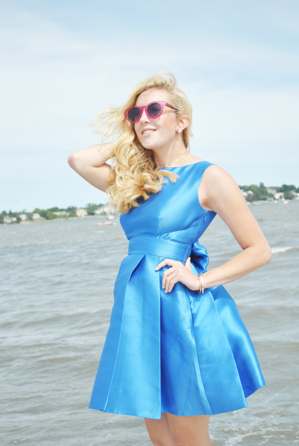 thoughtfulwish | preppy // kate spade // bow // birthday outfit // cake // party dress // boston fashion // meredith wish