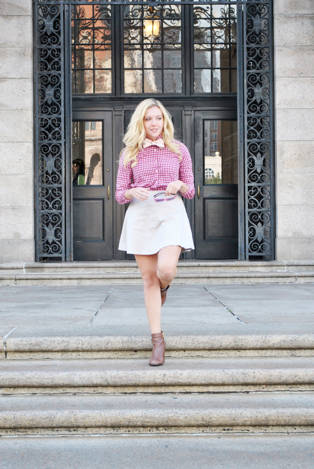 thoughtfulwish | oootie // bow tie // copley // boston // fblog // fashion blogger // preppy // fall outfit // meredith wish