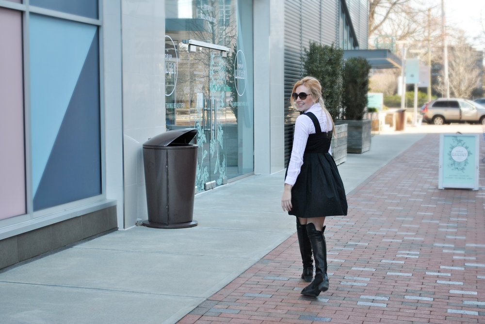 thoughtfulwish | thredup, gap, bowtie, bow tie, fashion, fashion blogger, fblog, chestnut hill, boston, bosblogger