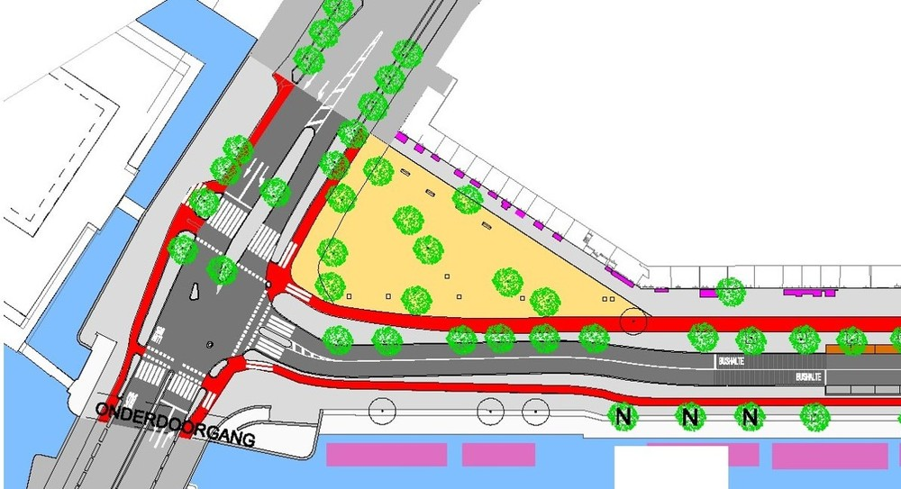 Buurtplan Kattenburgerplein/Eilandenboulevard (variant 1)