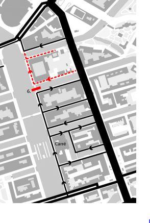 Nieuwe autoverkeerscirculatie tussen Amstel en Weesperstraat na knip bij brug Nieuwe Keizersgracht