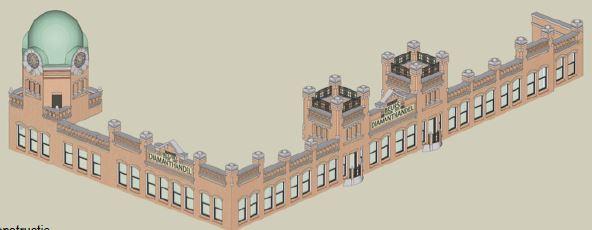 Dakrand- en gevelreconstructie met torens