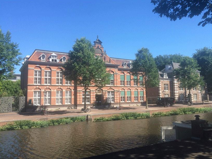 Artist impression Nieuwe Keizersgracht met watertuinen