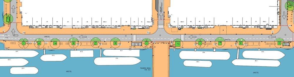 Definitief ontwerp Amstel oostzijde
