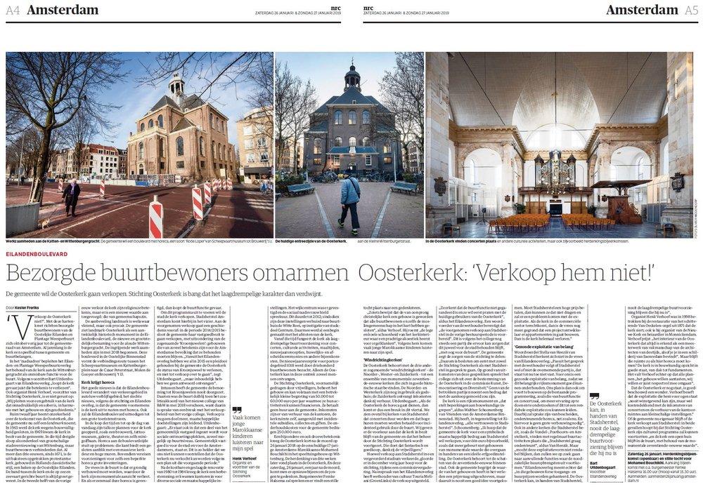 NRC-artikel Oosterkerk 26 januari 2019.JPG