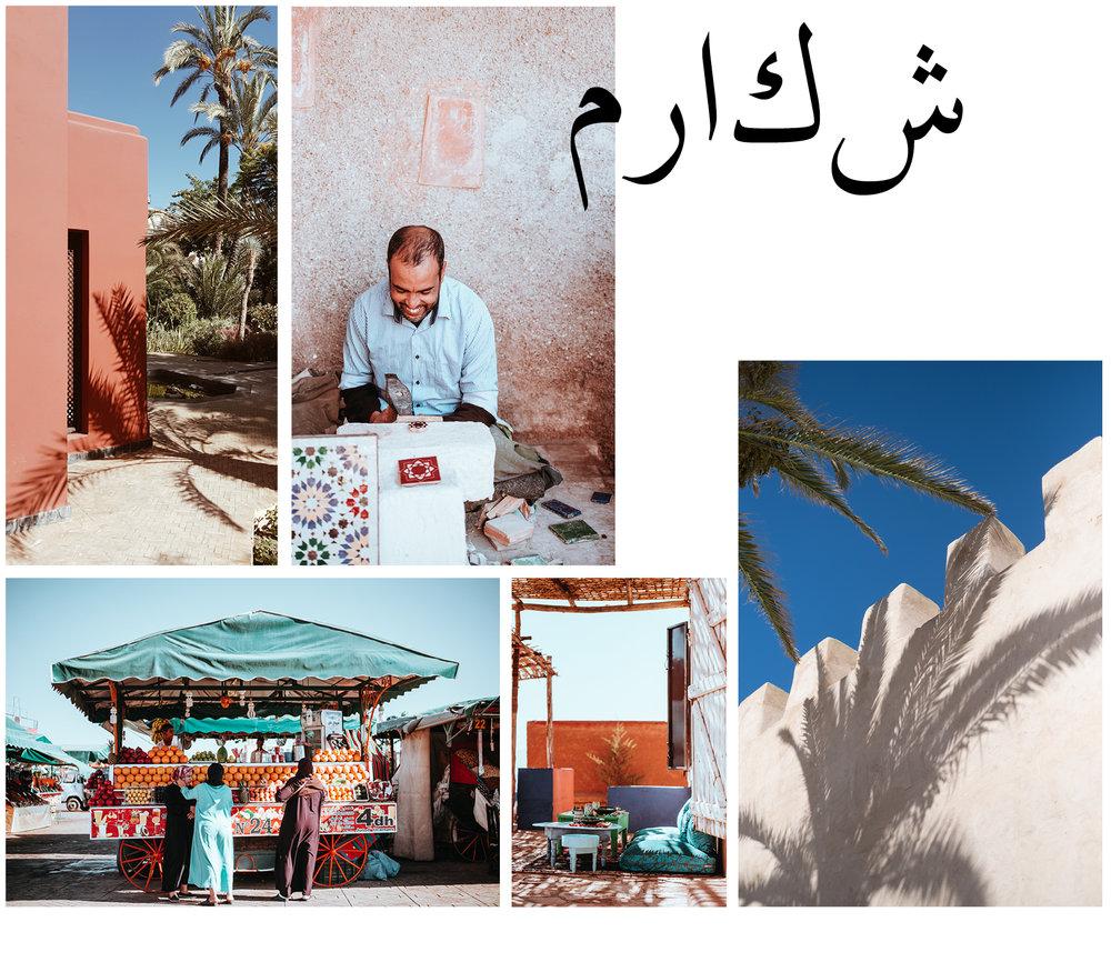 Programme:  1 Workshop de gatronomie marocaine traditionelle 1 Workshop de gastronomie marocaine contemporaine 2 Visites de jardins privés d'exception  Plus d'informations à suivre