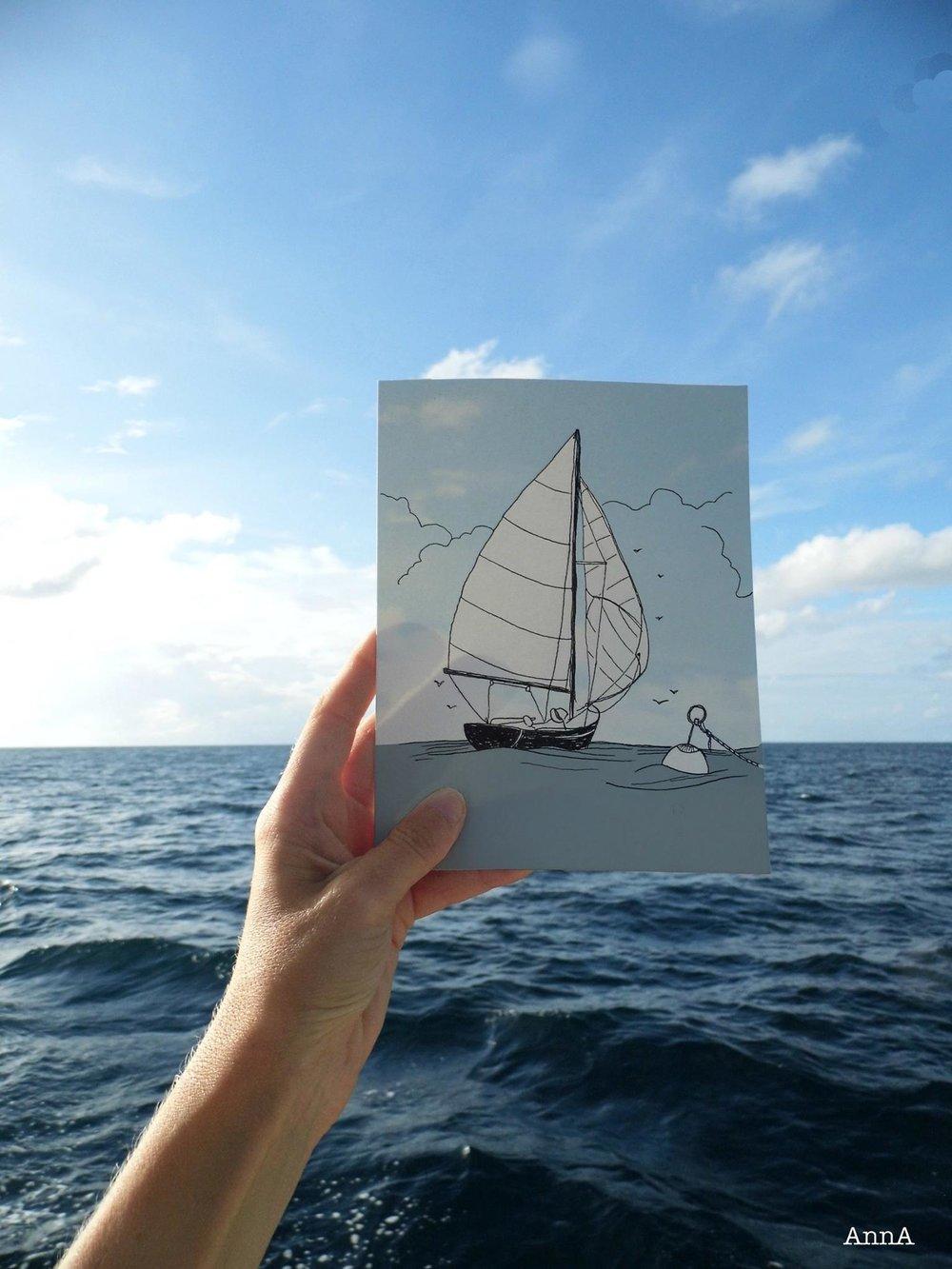 Navigation de Guyane vers Trinité et Tobago.