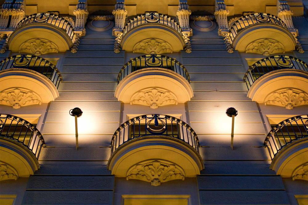 Majestic Hotel's Balconies