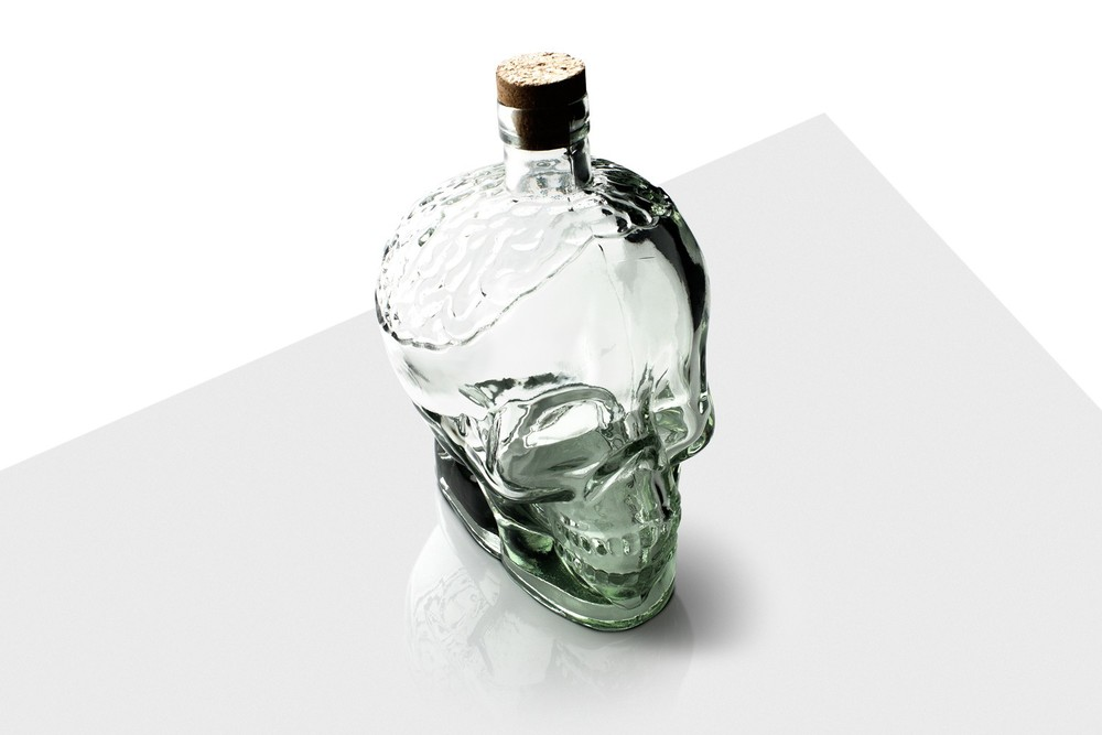 Vinçon's Glass Skull