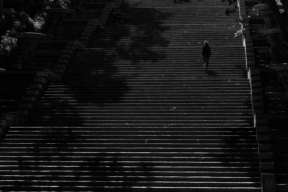 Montjuic Stairs
