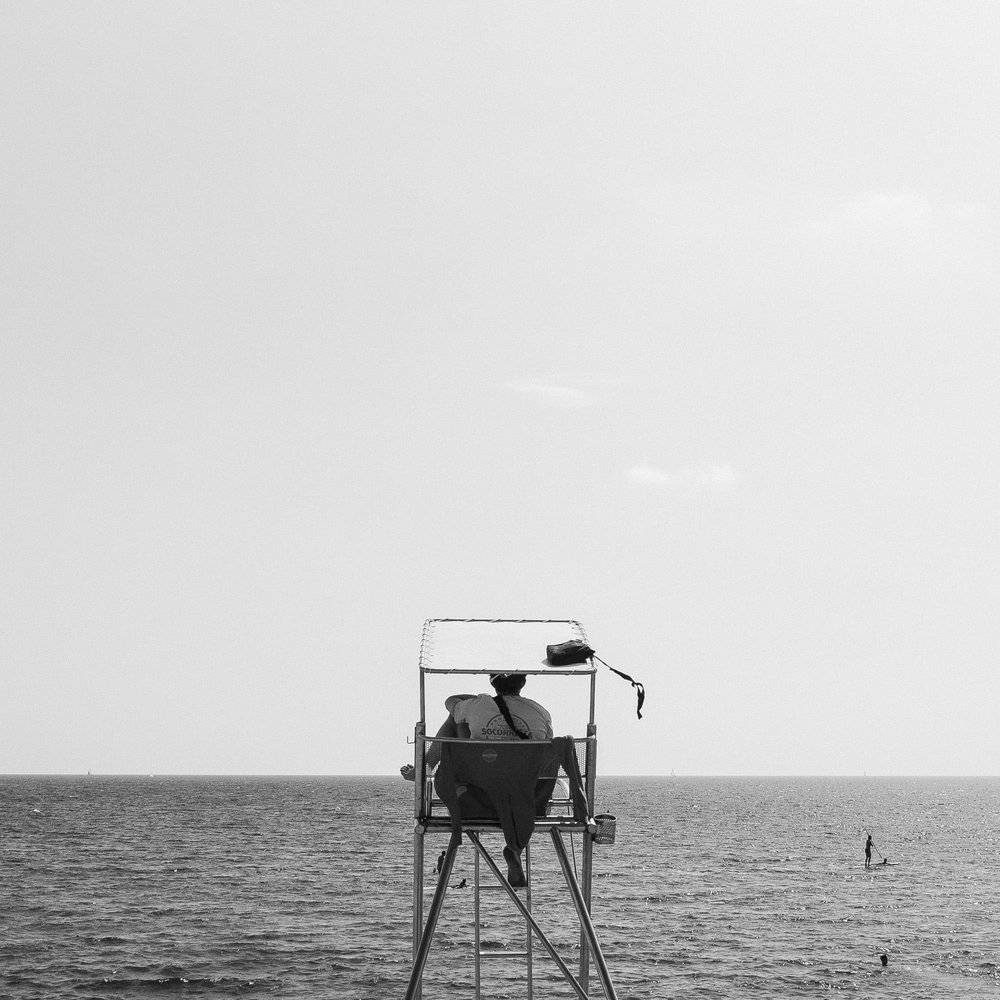 Barcelona`s Lifeguard