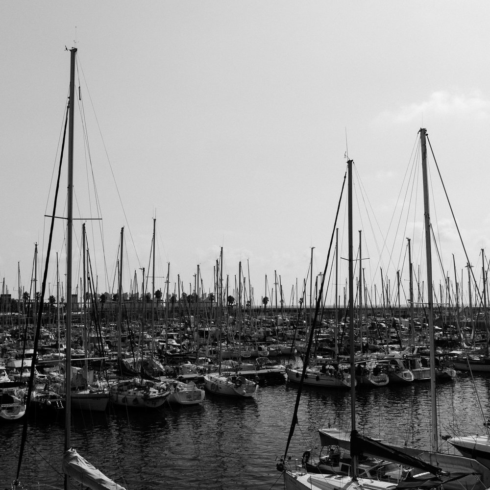 Boats at Barcelona