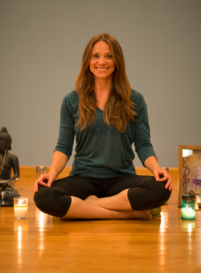Terra is originally from Tampa, Florida and went to Arizona State University where she graduated with degrees in Exercise, Wellness, and Human Nutrition. While attending ASU, Terra started taking yoga classes to supplement her fitness routine and to help her prepare and relax before challenging exams. It was during this time that she learned how brilliant yoga really was for creating a sense of calm, focused strength, and awareness. In 2010 Terra moved to San Diego, and by 2011 she was given the opportunity to earn her 200 hour Registered Yoga Teacher Certification through Pilgrimage of the Heart Yoga. In 2012 Terra traveled to India where she was able to dive deeper into the roots of yoga and meditation. Terra has had the opportunity to work with teachers from different styles of yoga such as Iyengar, Anusara, Ashtanga and Sivananda. While teaching Terra likes to incorporate all that she learned into creating alignment based classes that focus on asanas, breath work, and meditation. Terra specializes in Restorative Yoga at Arc Yoga Studio.