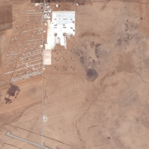 Zaatari in November 2012. Source: Digital Globe