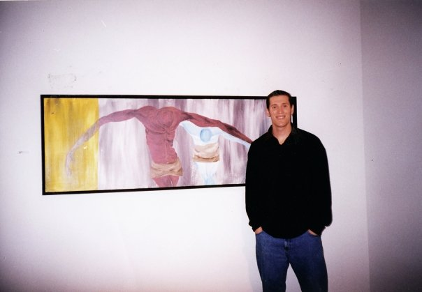 My Senior Art Show at Azusa Pacific University Circa 1999 the last time I was in school!