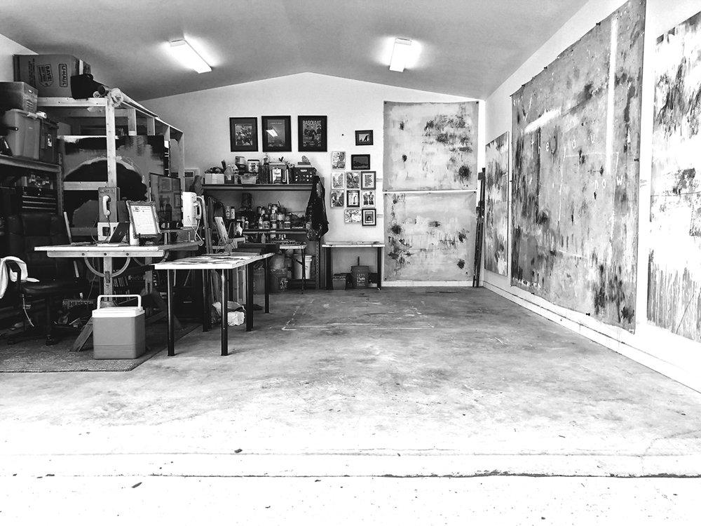 TY NATHAN CLARK'S STUDIO IN WACO, TX