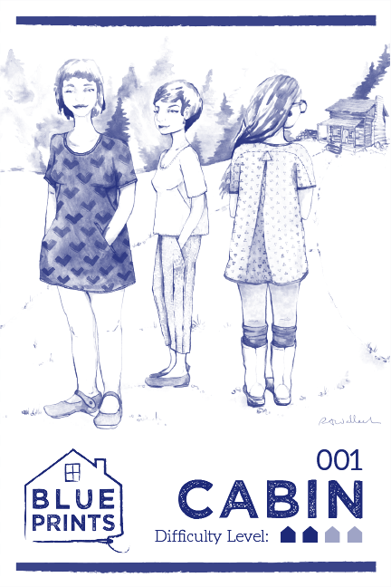Introducing cabin blueprints for sewing as an artist myself im looking forward to featuring the work of other artists on all future blueprints covers and other material as well possibly malvernweather Images