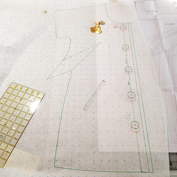 Cabin renovation the coat dress blueprints for sewing malvernweather Image collections