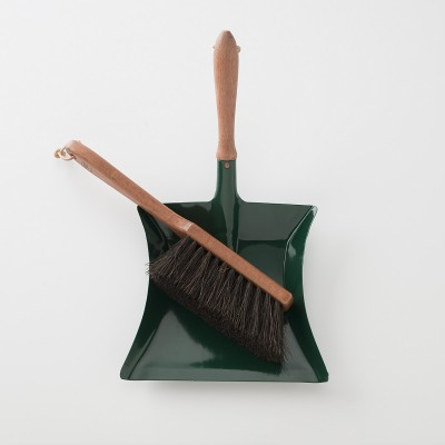 German made dustpan and brush set from Schoolhouse Electric