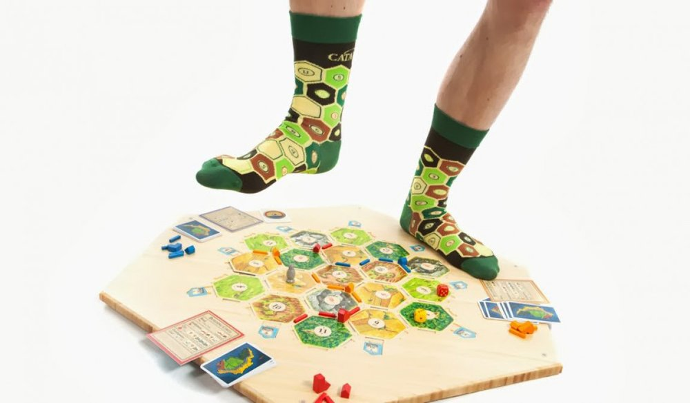 Settlers of Catan Socks by Betabrand