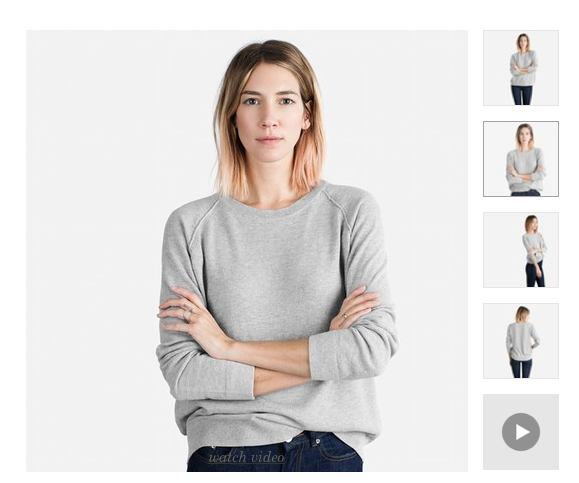 Seed Stitch Raglan Sweater by Everlane