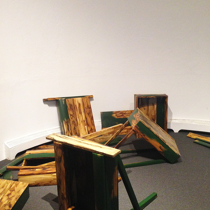 Hilary Wilder, Greatest American Hero (Thoreau's Desk Eight Times), 2011-2014