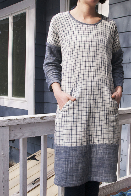 Cabin renovation long sleeve cabin blueprints for sewing but i love the way it turned out i like the look of it belted as well as loose the double cloth is very soft and incredible comfortable malvernweather Choice Image