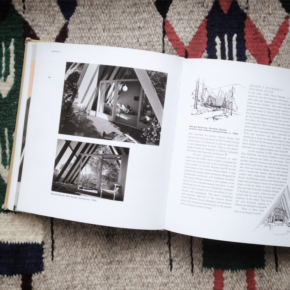 If you'd like to read a great book all about A-Frames, check out  A-frame  by  Chad Randl