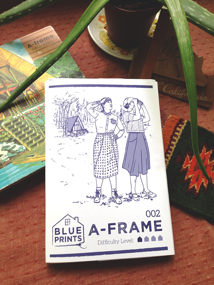 A-frame skirt - Blueprints for Sewing