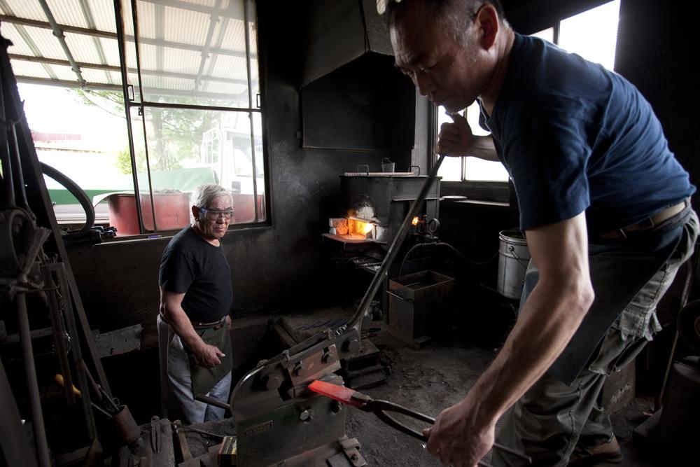 打刃物の町「人吉」  熊本県/蓑毛鍛冶屋