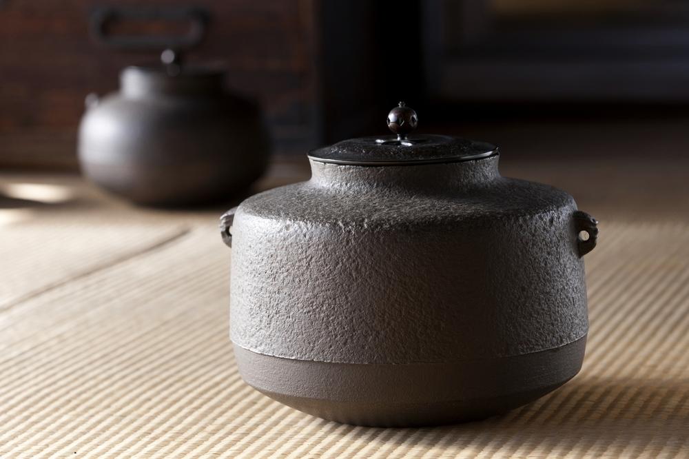鋳物の町「佐野」  栃木県/若林鋳造所若林秀真氏の天明鋳物の茶釜