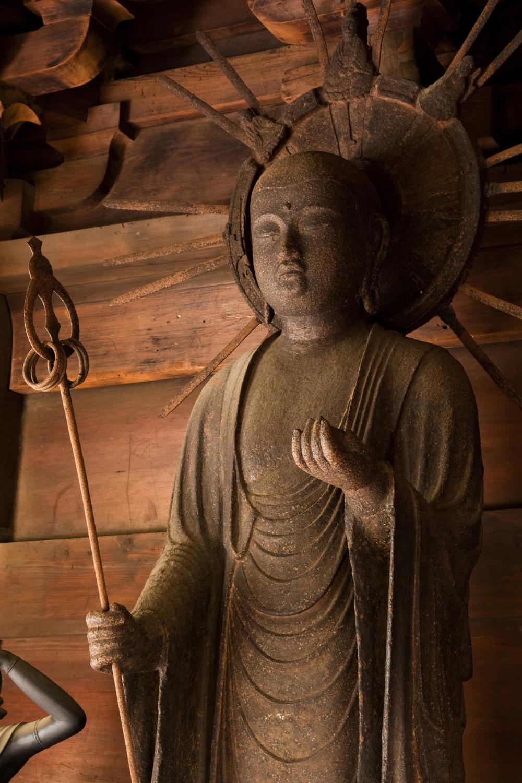 鉄仏のある町「稲沢」  愛知県/長光寺の地蔵菩薩立像