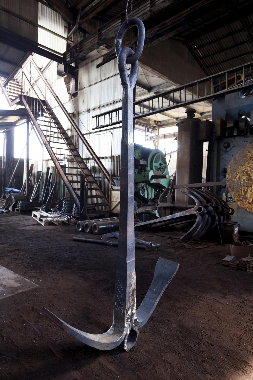 船鍛冶の町「福山」  広島県/中義鉄工所
