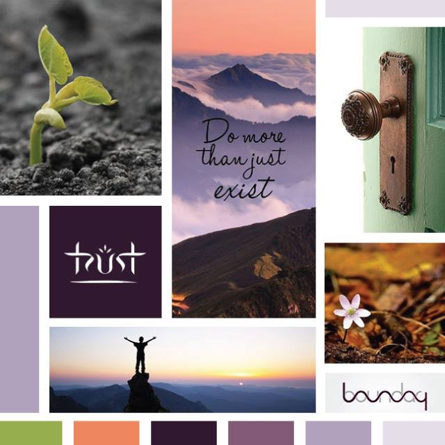 Thrive Life Coaching's Mood Board