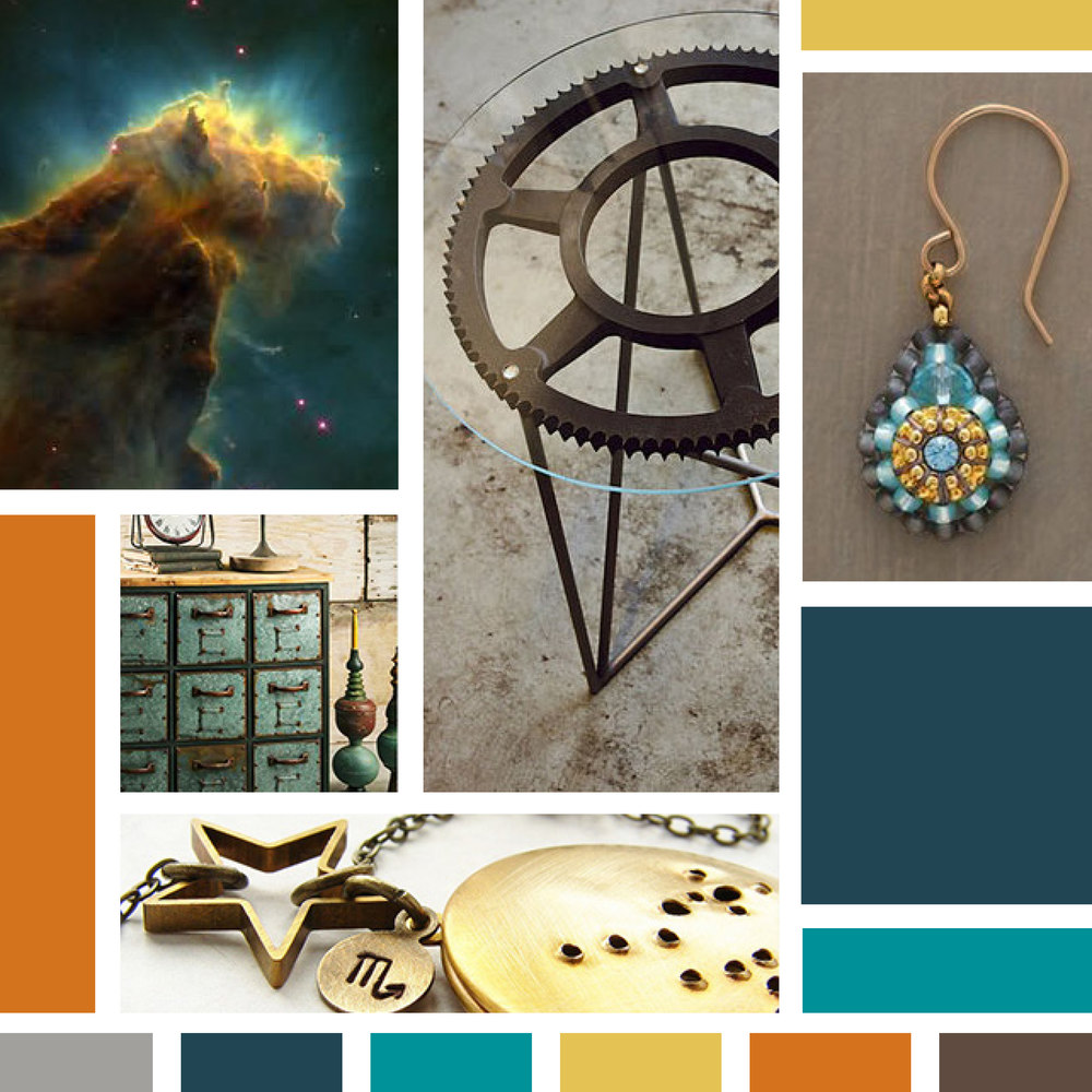 Starling Art Mood Board