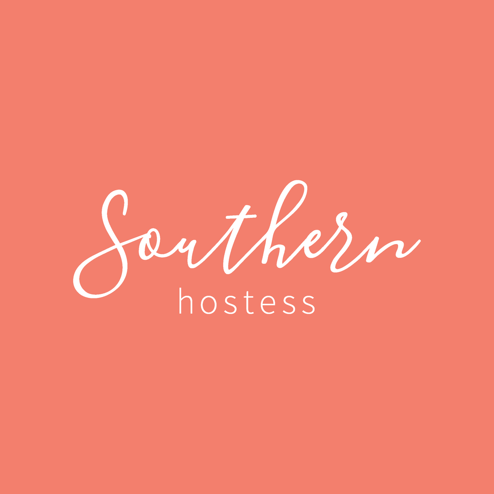 Southern Hostess Visual Brand Logo