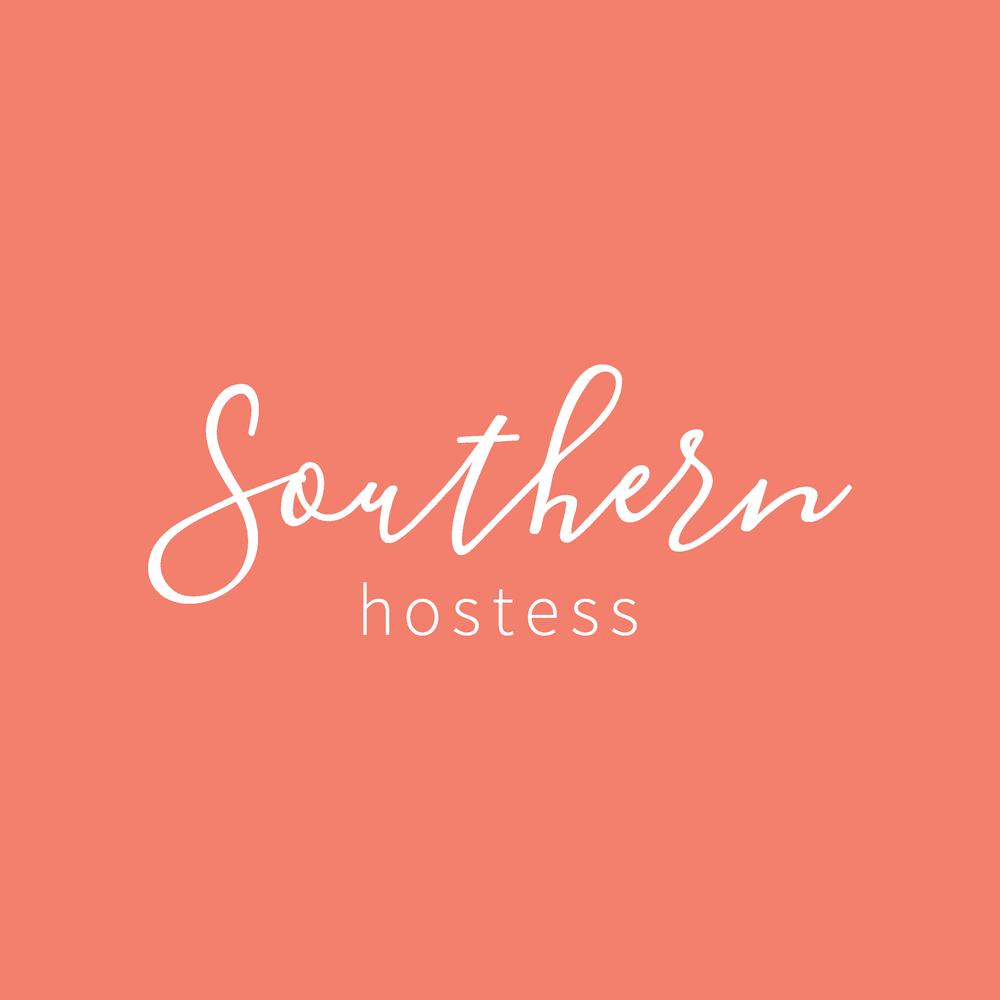 Southern Hostess Visual Brand Logo
